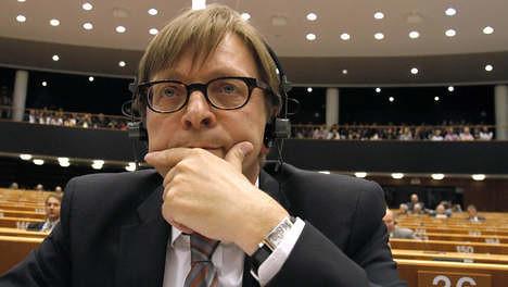 Guy Verhofstadt in Europees Parlement