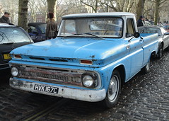 1965 CHEVROLET PICK-UP (shagracer) Tags: chevrolet pickup truck ute hvk167c american utility vehicle automobile car queen square bristol classic meet adc breakfast club avenue drivers