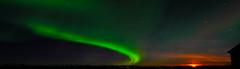 Iceland (a.penny) Tags: polar lights aurora borealis nikon hellnar d300 tokina 1116mm apenny iceland island nordic polarlichter moon rise mond aufgang mondaufgang nordlichter nothern snæfellsjökull sneffels stappi dx pro explore