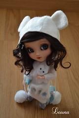 Célestine attend la neige... (~Louna~) Tags: eyes wig pullip custom fc custo obits fullcustom fullcusto