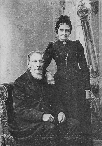 My great great grand-parents Golden Wedding photo