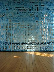 Rietveld Landscape's Pretty Vacant (indigo_jones) Tags: blue light holland art church netherlands architecture utrecht blauw kunst nederland chapel arches installation museums levels prettyvacant centraalmuseum rietveldlandscape