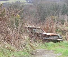 Ford Capri MK1. (RUSTDREAMER.) Tags: ford capri cornwall scrap rustdreamer