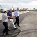 Mauricio Macri recorrió las obras de construcción del Distribuidor Dellepiane