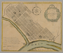 Plan of the city Marietta : laid out at the confluence of the River Ohio and Muskingum (Christopher Busta-Peck) Tags: ohio print map g marietta washingtoncounty 1780s ohioartthrough1865