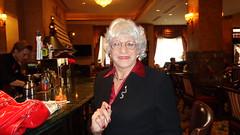 Sunday Afternoon With Laurette (Laurette Victoria) Tags: woman silver glasses suit milwaukee pfisterhotel laurette