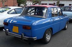 Renault 8 Gordini (Thethe35400) Tags: auto car cotxe coche automobile voiture carro bíll bil samochód blue blau blu azul carr urdina
