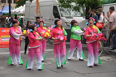 Dance Parade NYC 2016 (zaxouzo) Tags: nyc people costume colorful dancers cloudy action parade ethnic danceparade 2016 nikond90