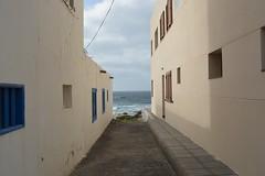 La Santa (classydining) Tags: ocean santa sunset espaa white beach water architecture island la spain lanzarote paya