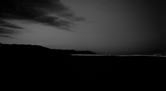 1 + 1 + 1 (ChrisRSouthland (back in Athens - at last)) Tags: ocean leica sea newzealand blackandwhite bw beach monochrome shoreline shore mm hawkesbay lastlight elmarit28mmf28 mmonochrom leicammonochrom