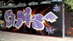 Den Haag Graffiti : SHAKE (Akbar Sim) Tags: shake denhaag thehague agga holland nederland netherlands binckhorst graffiti akbarsim akbarsimonse