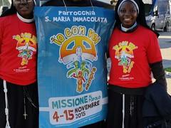 la gioia dei missionari