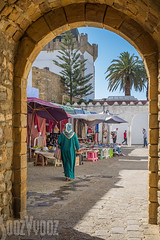 Exit from the Kasbah (Sue_Hutton) Tags: rural spring morocco maroc tangier tanger asilah