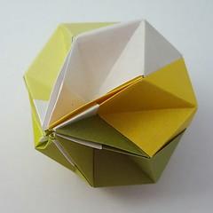 Ornament (modular.dodecahedron) Tags: modularorigami tomokofuse
