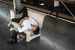 * (Sakulchai Sikitikul) Tags: street sleeping train 35mm thailand sony voigtlander streetphotography snap hatyai a7s