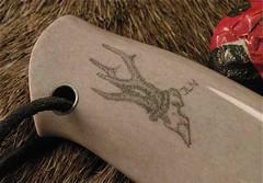 Jens Laage Nielsen - Danish knifemaker (thegoodstuffshop) Tags: knives jln handmadeknives customknives knivper thegoodstuffshop scandinavianknives naturgalleriet schrimshaw leathersheath customhandmade jenslaagenielsen pokuuknives