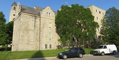 Old Waukesha County Courthouse and Jail (Waukesha, Wisconsin) (courthouselover) Tags: wisconsin waukesha wi waukeshacounty countyjails courthouseextras robertgkirschjr milwaukeemetropolitanarea