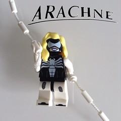 Purist Arachne (FxanderW) Tags: lego superheroes custom marvel arachne moc spiderwoman purist juliacarpenter