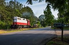 GNRR with the UA Load (Kyle Yunker) Tags: railroad train georgia universal alloy northeastern emd gp38 gnrr