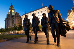 The Beatles statue at Pierhead (Les 24293998) Tags: chris fab england sculpture statue liverpool jones andrew beatles edwards pierhead