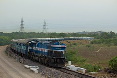 JP - SC Exp. (B V Ashok) Tags: express scr nwr agni emd gwv 20090 jpsc wdp4 bgkt 19713 jaipursecunderabad gowdavalli