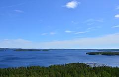The view from a sightseeing tower (Villikko) Tags: summer lake tower finland sightseeing kesä järvi päijänne