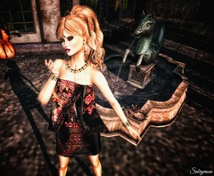 Sabrymoon wearing Styles by Danielle Monique dress and Moondance Boutique Anai jewels set (Two Too Fashion) Tags: sexy fashion style jewelry sensual secondlife casual chic jewels stylish elegance shortdress casualchic fashiondress fashionoutfit secondlifemodel elegantdress femaleoutfit chicoutfit moniquedress stylesbydanielle moondanceboutique anaijewelryset