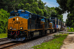 CSX Q170 at Lacoochee, FL 6-8-16 (tarellsallie) Tags: summer usa nature up june america cn port landscape unitedstates mail florida ns south scenic rail cargo stack unionpacific thunderstorm canadianpacific cp ge railfan bnsf trilby owensboro containers generalelectric canadiannational 727 pasco csx norfolksouthern 2016 emd intermodal railfanning pascocounty dadecity sd60 es44dc sd70 ac44cw sd70mac electromotive sd50 sd70ace es44ac cw44ac lacoochee es44ah et44ac