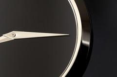Minimal Time (j.towbin ©) Tags: allrightsreserved© clock time movado macro minimalism monochrome img7651 macromondays bw