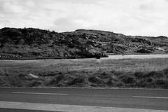 BWJPG---IMG_6491 (r4ytr4ce) Tags: ireland blackandwhite beach landscape 50mm boat eire donegal ire trchonnaill