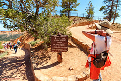 Queen's Garden Trail - Bryce Canyon National Park (mikerhicks) Tags: travel arizona people usa southwest nature geotagged outdoors photography utah spring unitedstates desert hiking adventure event backpacking bryce brycecanyon marblecanyon brycecanyonnationalpark queensgardentrail onemile geo:country=unitedstates geo:state=utah camera:make=canon exif:make=canon tokinaatxprosd1116f28ifdx exif:lens=1116mm exif:aperture=10 geo:city=bryce exif:isospeed=100 exif:focallength=11mm canoneos7dmkii camera:model=canoneos7dmarkii exif:model=canoneos7dmarkii geo:lat=3762830667 geo:lon=11216301833 geo:lat=37628306666667 geo:lon=11216301833333 geo:location=brycecanyon