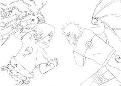 Naruto Shippuden (Chidori Vs Rasengan) (Izzat Legend) Tags: anime drawing rasengan chidori uzumakinaruto uchihasasuke narutoshippuden