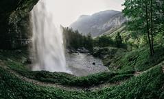 Potenza e magnificenza (Davide Bon) Tags: summer panorama green nature 35mm landscape waterfall nikon pano fvg friuli fontanone 35mm18 vsco goriuda nikond7100 vscofilm igersfvg