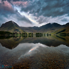The Rift (Dave Massey Photography) Tags: england lake mountains reflection outdoors dusk lakedistrict scenic peaceful calm cumbria fells buttermere canon5dsr