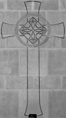 Celtic cross (Will S.) Tags: bw toronto ontario canada church symbol churches christian christianity mypics protestant presbyterian celticcross symbolism protestantism presbyterianism glenviewpresbyterianchurch