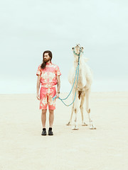 For Vangardist Magazine #59 / 04 / 2016 (KDZN) Tags: male fashion hair beard long desert tunisia pastel camel ong jmal