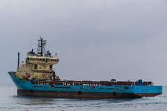 Maersk Finder (SPMac) Tags: way boat ut support under platform vessel cargo wash f rails service stern finder supply 745 psv maersk mrsk