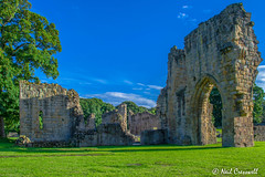 181/366 Basingwerk Abbey (crezzy1976) Tags: old building abbey architecture nikon ruins outdoor bluesky photoaday 365 greenfield day181 holywell northwales basingwerkabbey d3100 yahooyourpictures crezzy1976 photographybyneilcresswell 366challenge2016