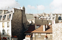 Paris Tops (annnna*) Tags: chimney paris film rooftop pentax tejados chimenea antenas pentaxspotmatic