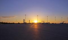 Last sunset (samuel.milbert) Tags: sunset tarmac de soleil coucher venise avion dcollage aroport