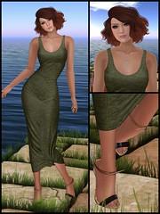 Love this dress! (Gillian Galicia) Tags: truth tetra uber meshhead izzies glamorize slbirthday meshbody groupgift lepoppycock chicchica fantasycollective genesislab maitreyalara