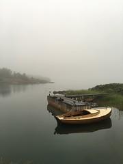 Aland Islands (f_delirium) Tags: finland landscape islands boat smoke aland