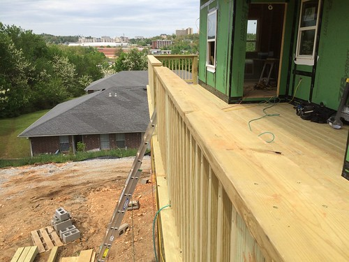 Building Second Story Deck