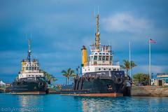 tug fleet (adicunningham) Tags: ocean life boats island ships tugboat bermuda tug tugs dockyard islandlife