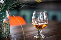 Cognac and Coffee (EvanJawnson) Tags: wood arizona glass coffee phoenix table 50mm nikon wheat hipster coffeeshop az monday nikkor remy cognac arcadia phx snifter remymartin niftyfifty d7100 nikond7100