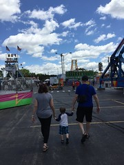 """Paul Walks with Grandma and Grandpa Miller at the Rose Festival • <a style=""""font-size:0.8em;"""" href=""""http://www.flickr.com/photos/109120354@N07/27578478230/"""" target=""""_blank"""">View on Flickr</a>"""