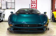 Jaguar XJ220. (JayRao) Tags: christmas nikon dubai december jaguar nikkor fx unitedarabemirates jayr 2015 d610 2470 xj220 parcferme