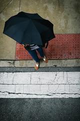 Chicago photos by Molly Porter (mollyporter) Tags: chicago rain umbrella toes