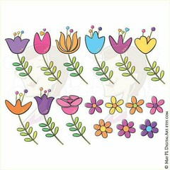 Complete set of whimsy Floral Clipart cute flowers great for scrapbooking, cardmaking #Floral #Clipart #whimsy #cute #flowers #scrapbooking #whimsical #doodle #doodles #leaf #spring #businessowners #businesses #businesswoman #flower #flowerpower #flowerdr (maypldigitalart) Tags: flowers flower cute floral illustration scrapbooking leaf spring whimsy drawing drawings doodle clipart doodles flowerpower whimsical businesses businesswoman cardmaking businessowners flowerdrawing