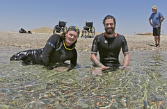 2404 Chris Middleton (KnyazevDA) Tags: sea underwater wheelchair scuba diving disabled diver padi undersea handicapped amputee disability